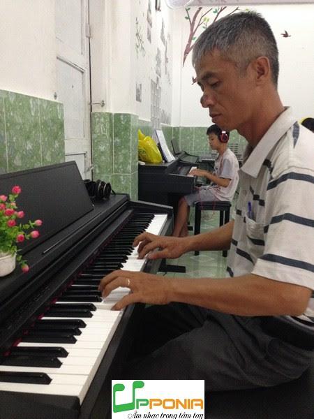 Anh Nguyễn Minh - Lớp hướng dẫn Tự Học Piano dành cho người lớn của Upponia