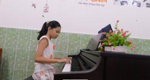 Minh Anh - Lớp piano trẻ em Thủ Đức của TT Âm Nhạc Upponia