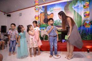 Duy Khang tại chương trình tỏa sáng tài năng lần 1